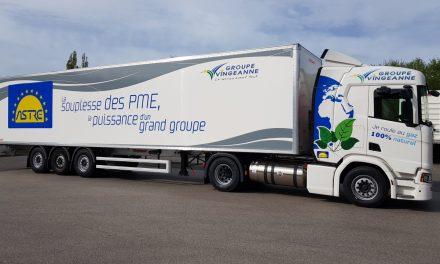 Astre-Netzwerk als Vorreiter neuer Antriebstechnologien: Vingeanne Transports erwirbt neuen Erdgas betriebenen LKW